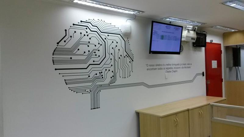 Adesivo recorte eletronico personalizado