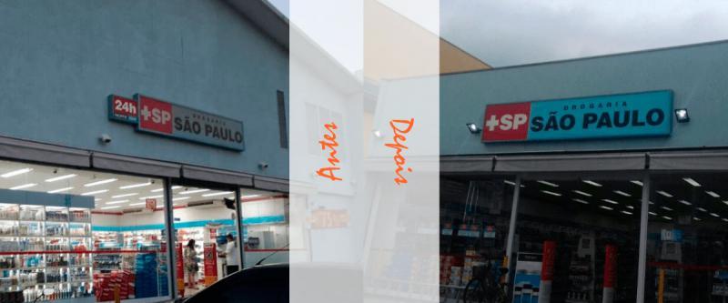 Empresas de manutenção de fachadas luminosos