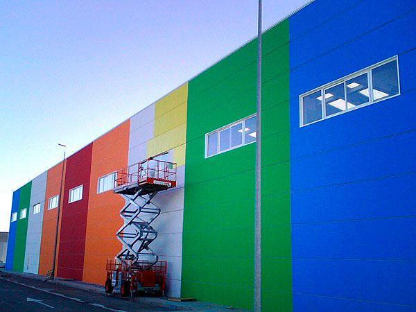 Fábrica de pinturas fachadas